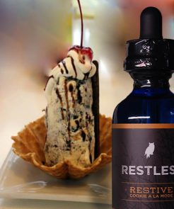 Restless E-liquid's<br>Cookie A La Mode