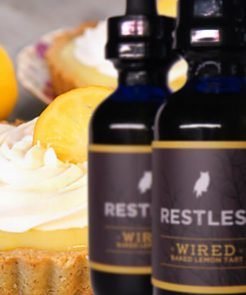 Restless E-liquid's<br>Wired Baked Lemon Tart